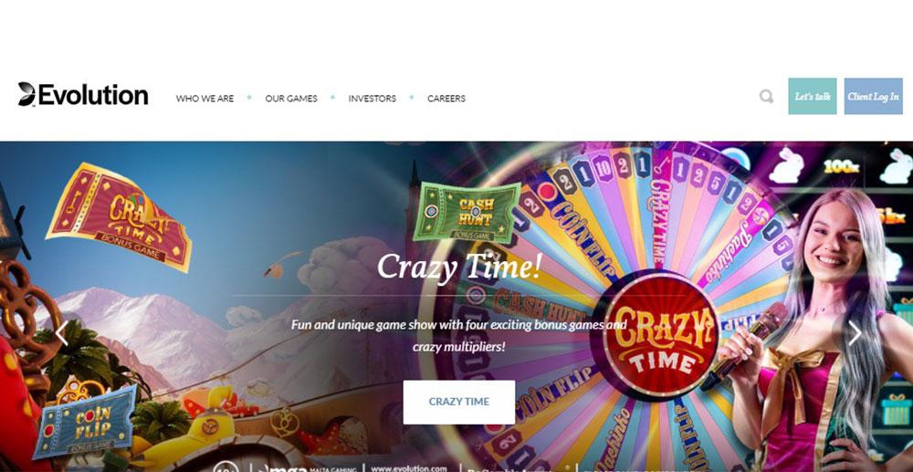 Evolution Gaming Casino Software Review
