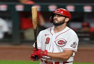 Cincinnati Reds' Mike Moustakas on Injured List
