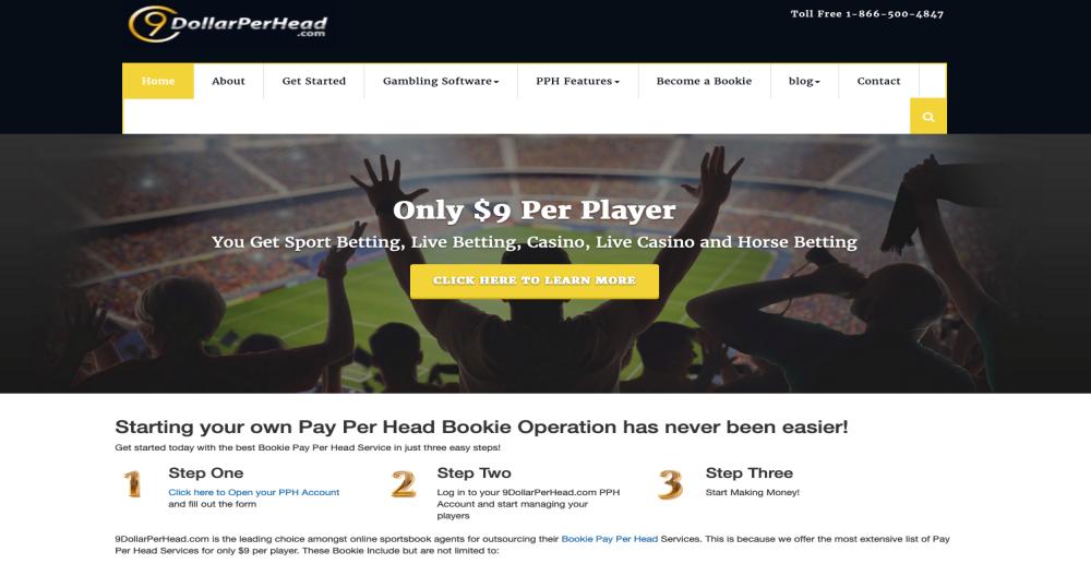 9DollarPerHead.com Bookie Pay Per Head Review